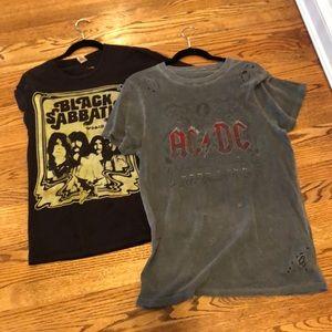 Distressed rocker t shirt bundle